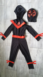 Costumes or dress up for 7-8 year olds - spiderman & ninja