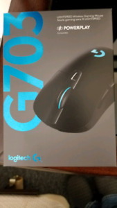 Logitech g703 gaming mouse corded or wireless brand new