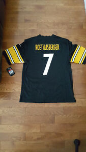 *Brand New w/Tags*Official NFL BEN ROETHLISBERGER Game Jersey*