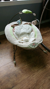 Infant swing and bouncer
