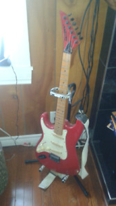 Lefty electric guitar