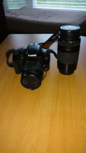 Excellent Canon Starter Camera with Auto  Focus Zoom