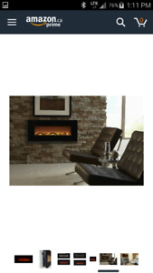 BNIB Touchstone Onyx Electric Fireplace