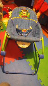 Vibrating baby chair. Fisher Price