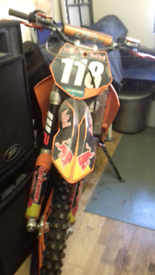 Ktm motor cross bike