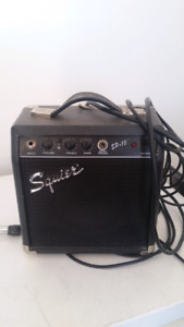 Squier sp10 amp and output cord