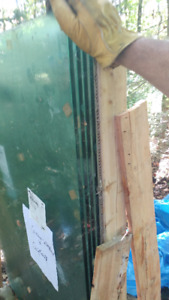 For Sale - Deck Glass Panels 1/2 inch (12mm) thick