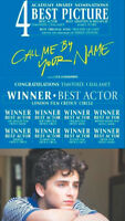 CALL BE BY YOUR NAME POSTER SOUVENIR COLLECTION