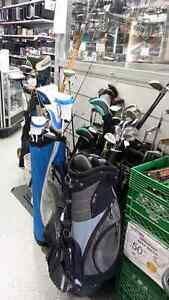 Golf equipment for sale. We sell used golf equipment.