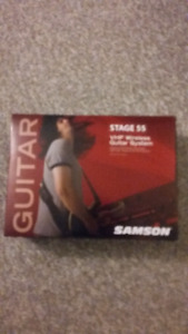 Samson wireless guitar system