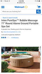 Intex Purespa brand new in box