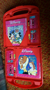 Disney read and sing along books