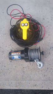 Superwinch with remote and cables