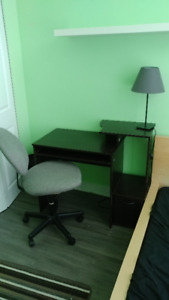 Desk and Chair for Sale SFU campus
