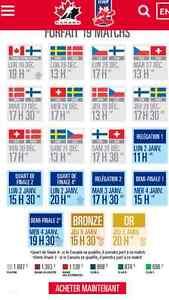 Billets championnat du monde junior