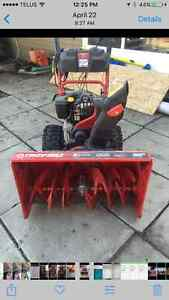 Troy Built Snowblower