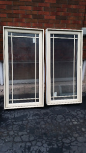 2 windows (2 ft by 4 ft)