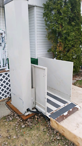 Electric Wheelchair Lift.