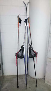 Skis, Poles and Men's Boots