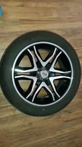 Mags et pneus  245/50R20
