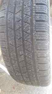 4 continental tires 235 55 R 19