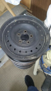 """15"""" Steel Wheels for Honda Civic 5 x 114.3 Excellent Condition"""