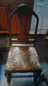 4 Dark Maple Dining room chairs Kawartha Lakes Peterborough Area image 1