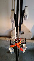 ROSSIGNOL DOWN HILL SKIS(195's) and SOLOMON Bindings