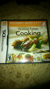 Personal trainer cooking