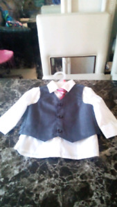 6-12 months dress shirt  brand new