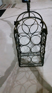 Wine rack-metal