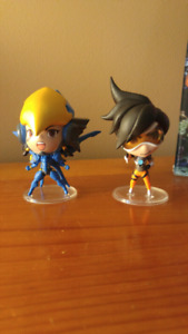 Tracer and Pharah - Blizzard Cute But Deadly series 2 Overwatch
