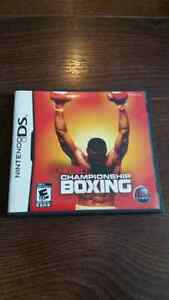 Showtime Championship BOXING, NINTENDO DS