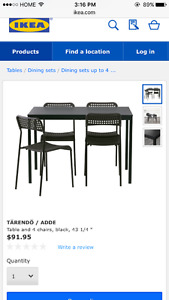 Ikea dinning set need to be gone today