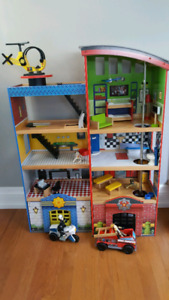 Kidscraft Police and Fire Station