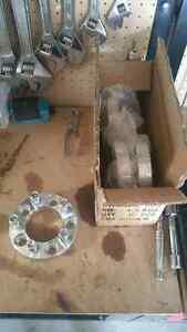 4 aluminum 1 inch wheel spacers 5x 114