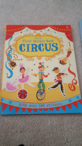 Circus sticker book