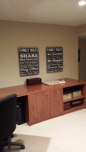 """Home or Office Desk """"Best Offer"""" will be considered West Island Greater Montréal image 4"""