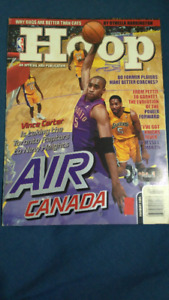 Raptors: Hoops Magazine Vince Carter and Rookie Card Stoudamire