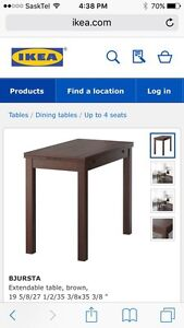 IKEA table for small spaces