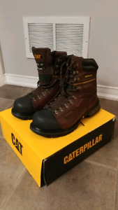 CAT safety boots 8""