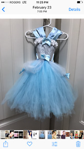 Cinderella infant's ball gown