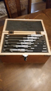 0 to 6 inch Micrometer set