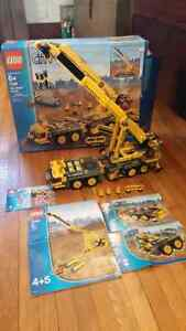 Lego 7249 xxl Mobil Crane City Construction  instructions box