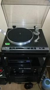 Sony PS-X50 direct drive turntable