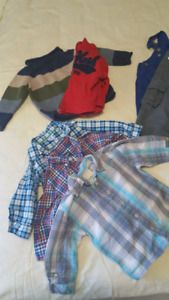 12 mo fall/winter boy lot - EUC