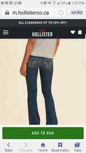 New womens Hollister jeans size 32