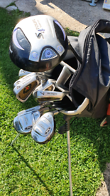 Ben sayers and slazenger golf set