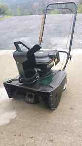 Craftsman snow blower single stage\as new