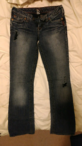 Womens Silver Jeans Size 26 and 25